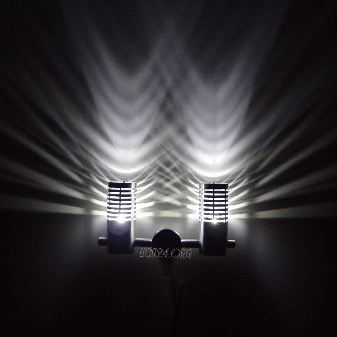 led wandstrahler candeller weiss wandleuchte. Black Bedroom Furniture Sets. Home Design Ideas